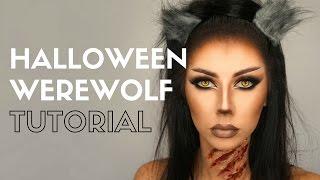 getlinkyoutube.com-Halloween Werewolf Makeup Tutorial ● Bella Makeup