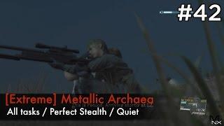 getlinkyoutube.com-【MGSV:TPP】Episode 42 : [Extreme] Metallic Archaea (S-Rank/All Tasks/Quiet)