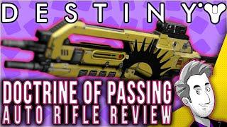 getlinkyoutube.com-Doctrine Of Passing Auto Rifle | Gameplay Review | Destiny
