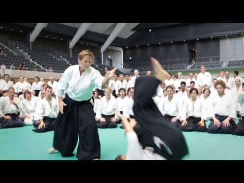 Aikido Class: Micheline Tissier 6th Dan - 12th IAF Congress in Takasaki