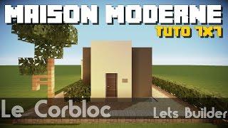 getlinkyoutube.com-Minecraft - Tuto Maison Moderne 7x7