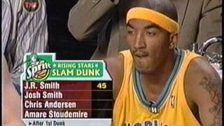 getlinkyoutube.com-J.R. Smith - 2005 NBA Slam Dunk Contest