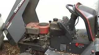 getlinkyoutube.com-Starting 7 Craftsman LT4000 Tractors