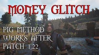 getlinkyoutube.com-The Witcher 3 Money Glitch After Patch 1.22 / 1.23 - NO DLC Required - Pig Glitch