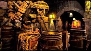 getlinkyoutube.com-Pirates of the Caribbean queue line opening music 1 hour loop