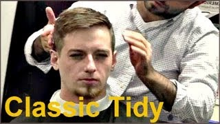 getlinkyoutube.com-✄ Barber Tutorials 8 - Classic Tidy Cut