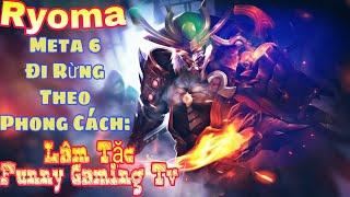 Ryoma Mùa 6 - Đi rừng nên chọn món Trang Bị nào? Cách Combo Skill như nào để phát huy hết sức mạnh!