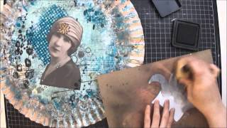 Mixed Media - She Only Lives Once - Start to Finish Tutorial