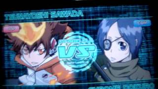 "getlinkyoutube.com-Katekyo Hitman Reborn Battle Arena 2 PSP ""Full character"""