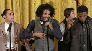 "Hamilton cast performs ""Alexander Hamilton"" at White House"