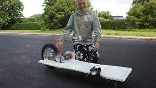 getlinkyoutube.com-How To Make A Electric Longboard Easy