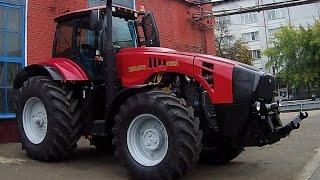 getlinkyoutube.com-Самый мощный белорусский трактор Беларус 4522 (МТЗ)