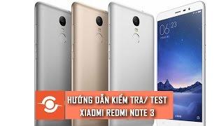 getlinkyoutube.com-CSKN - Hướng dẫn kiểm tra/test Xiaomi Redmi Note 3