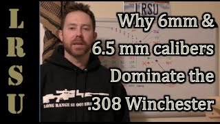 getlinkyoutube.com-Why 6.5 or 6 mm dominate the .308 Winchester? - Long Range Lectures