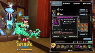 getlinkyoutube.com-Dungeon Defenders 2: 50k DPS Huntress Build Felcon Shot Bow & Burst Fire Bow!!