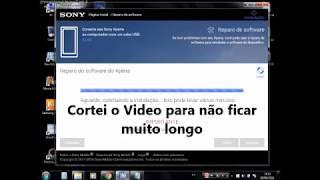 getlinkyoutube.com-Sony xperia Hard reset qualquer xperia Novo 2016 Xperia Companion