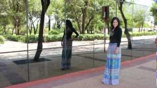 """getlinkyoutube.com-Long skirt lover (""""v"""") DIY"""