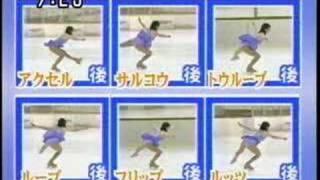 getlinkyoutube.com-村主章枝選手の妹、村主 千香選手によるジャンプの種類解説