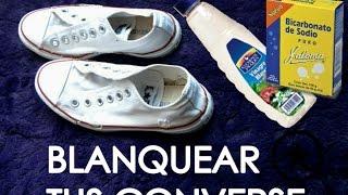 getlinkyoutube.com-Blanquear Tus Converse* TUTORIAL