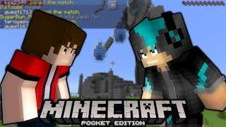 getlinkyoutube.com-TEMAN MAKAN TEMAN!! w/ JustNap - Minecraft PE Multiplayer #2