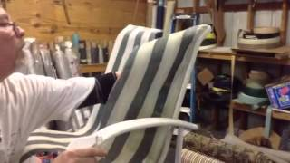 getlinkyoutube.com-How to Remove an Old Chair Sling