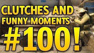 getlinkyoutube.com-SPECIAL! CS GO Funny Moments and Clutches #100 CSGO