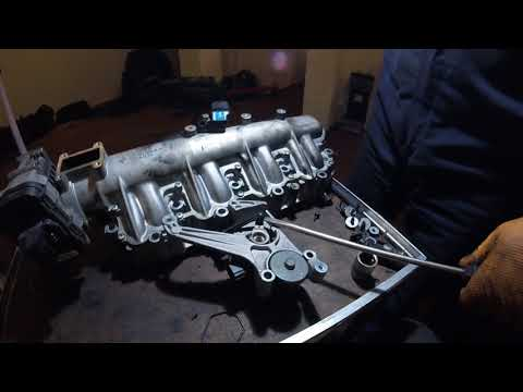 How to Pull Intake Manifold Flaps - VAUXHALL вытянуть заслонки впускного коллекторе Opel
