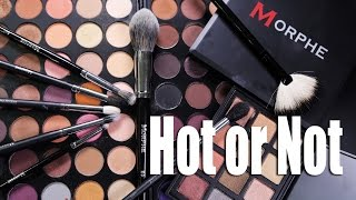 getlinkyoutube.com-MORPHE MAKEUP & BRUSHES  |  Hot or Not