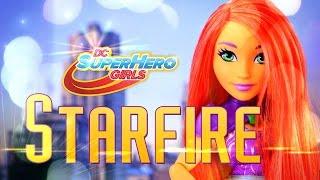 getlinkyoutube.com-Unbox Daily: DC Superhero Girls - Starfire - Doll Review - 4K