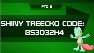 Shiny Treecko Mystery Gift Code - Pokemon Tower Defense 2 (PTD 2 ...