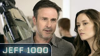 9 Questions with David Arquette (Just Don't Ask About Robots) | Jeff 1000 Starring Summer Glau
