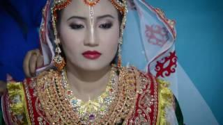 getlinkyoutube.com-Jina & Rajkumar wedding, Manipur traditional wedding