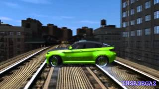 getlinkyoutube.com-GRAND THEFT AUTO IV BMW X6 HAMANN CRASH TESTING HD 2