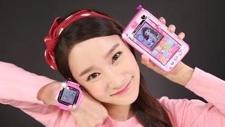 getlinkyoutube.com-세라의 공주시계 와 공주폰 장난감 캐리의 사진찍기 놀이 CarrieAndToys
