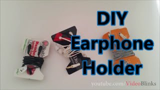 getlinkyoutube.com-DIY Earphone Holder