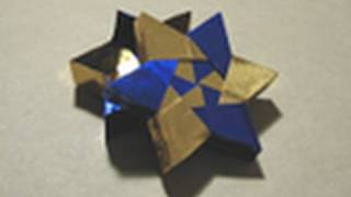 getlinkyoutube.com-Origami Instructions: 6-pointed Star Box (Robin Glynn)