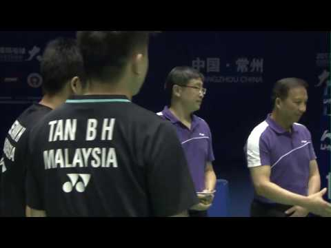 China Masters 2017 | Badminton SF M5-MD | Chen/Wang vs Set/Tan