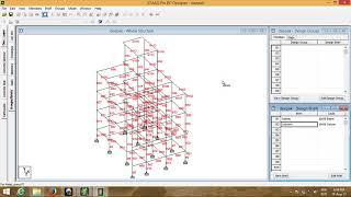 Design of building using staad rc designer ....