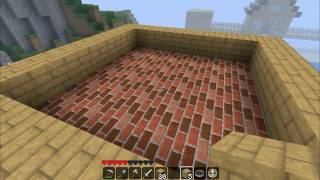 getlinkyoutube.com-Minecraft 10 - Casa do Herobrine