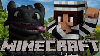 How To Train Your Dragon | Minecraft Dragon Mounts COPS N' ROBBERS