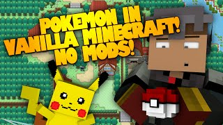 getlinkyoutube.com-POKEMON IN VANILLA MINECRAFT! NO MODS! (Minecraft Redstone)