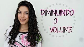 getlinkyoutube.com-Como DIMINUIR O VOLUME no cabelo cacheado | Mayse Cavalcante