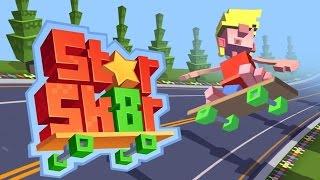 getlinkyoutube.com-Star Skater (Halfbrick Studios) - Android Gameplay HD