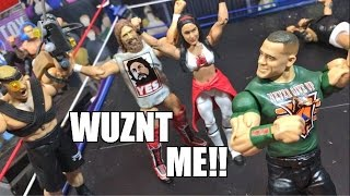 getlinkyoutube.com-GTS WRESTLING: WHO GOT BRIE PREGNANT? WWE Mattel Figure Animation PPV Event!