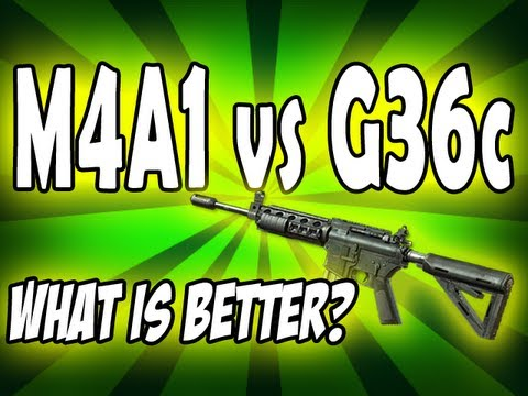 MW3 Tips & Tricks: M4A1 vs G36c - What Assault Rifle is Better? (Modern Warfare 3)