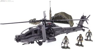 getlinkyoutube.com-Mega Bloks AH-64 Apache CoD Anti-Armor Helicopter review!
