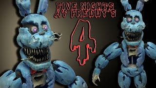 "FNaF 4 ★ NIGHTMARE BONNIE ""Tutorial"" - Porcelana fria / Cold porcelain ★ Polymer clay ★ (REUPLOAD)"