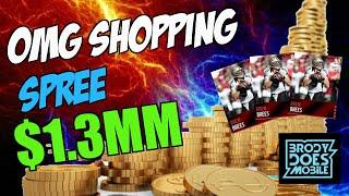 getlinkyoutube.com-Madden Mobile Shopping Spree | $1.3 MM COINS!! Madden Mobile Spending Spree | Madden Mobile 16