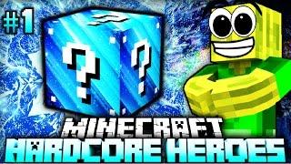 getlinkyoutube.com-Ein EISKALTES ABENTEUER!! - Minecraft Hardcore Heroes 5 - #01 [Deutsch/HD]