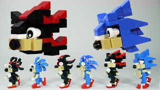 getlinkyoutube.com-How To Build LEGO Shadow & Sonic the Hedgehog